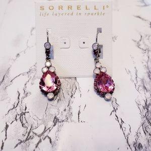 sorrelli pink sweetheart earrings